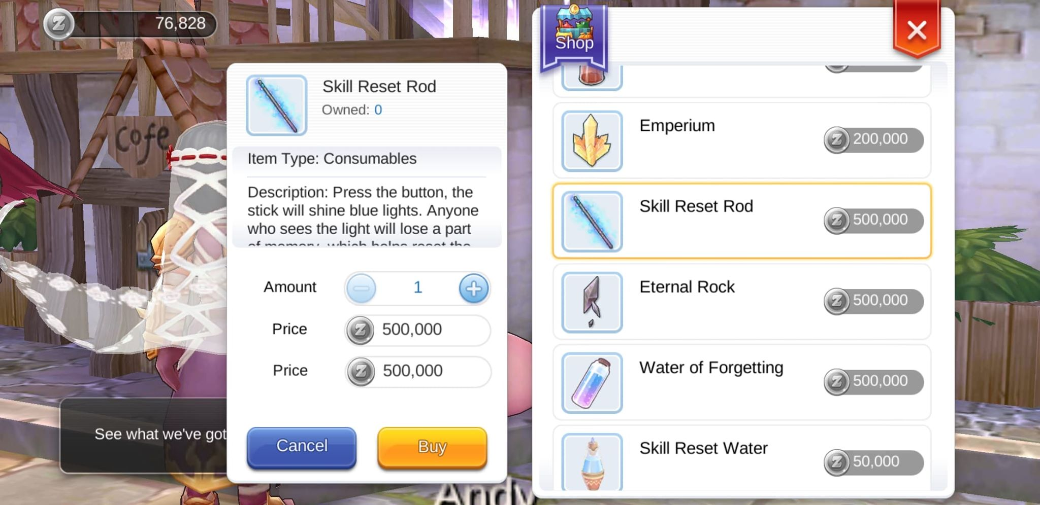Reset Stats and Reset Skill Tree in Ragnarok Mobile Eternal