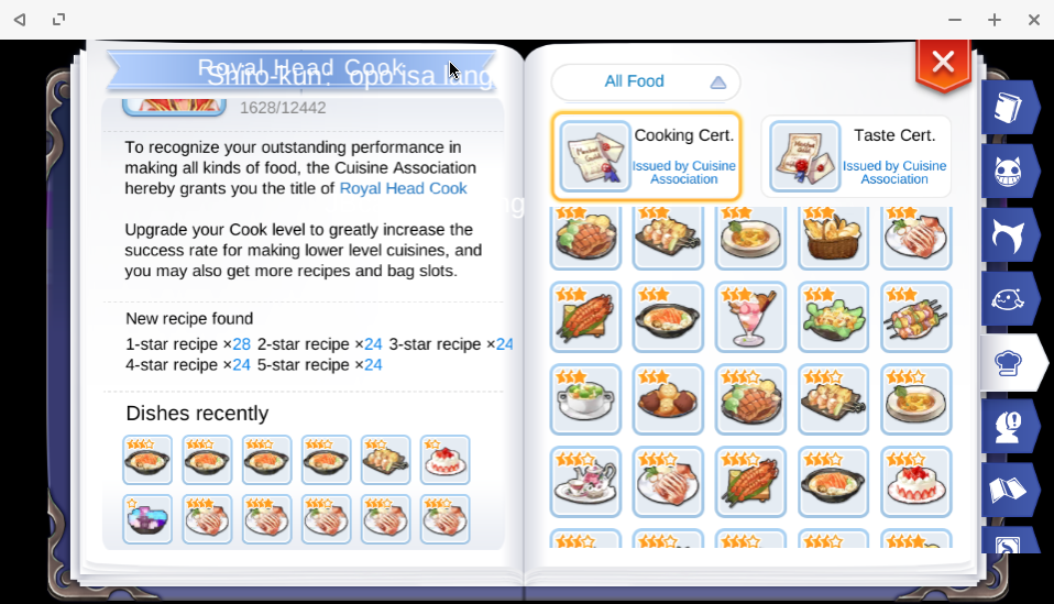 Where to Farm Food Material Recipes in Ragnarok Mobile